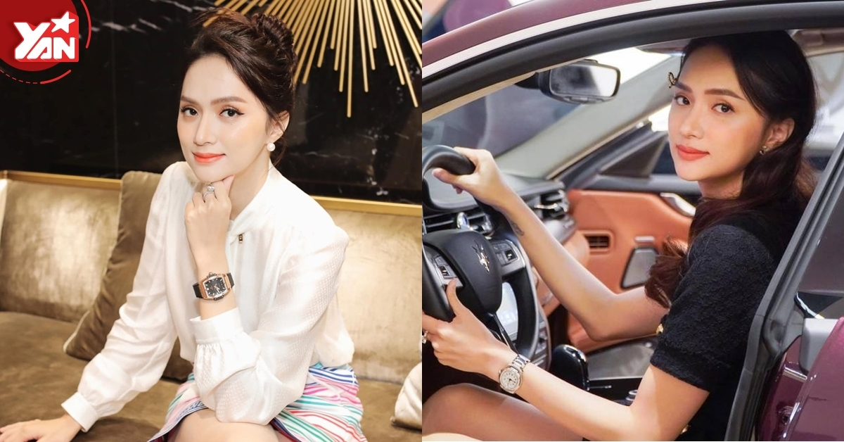 Hương Giang liên tiếp sắm đồng hồ hiệu sau yêu Matt Liu: item nào cũng kín kim cương